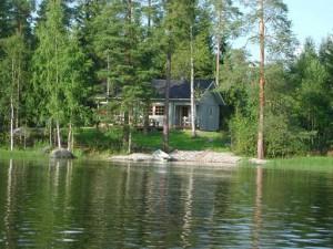 Lummeranta from the lake